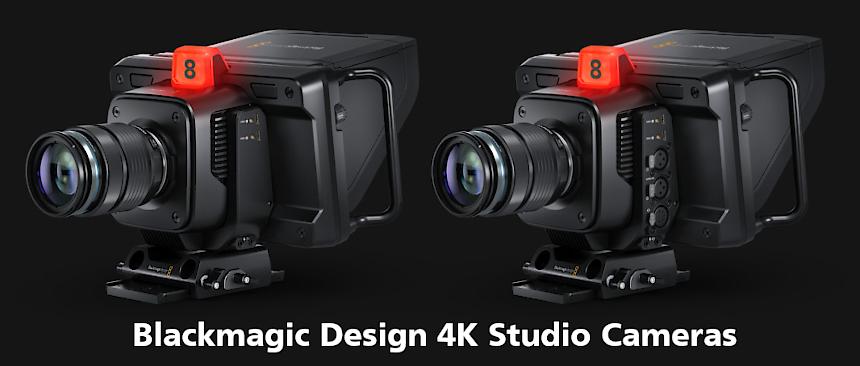Blackmagic Design 4K Studio Cameras